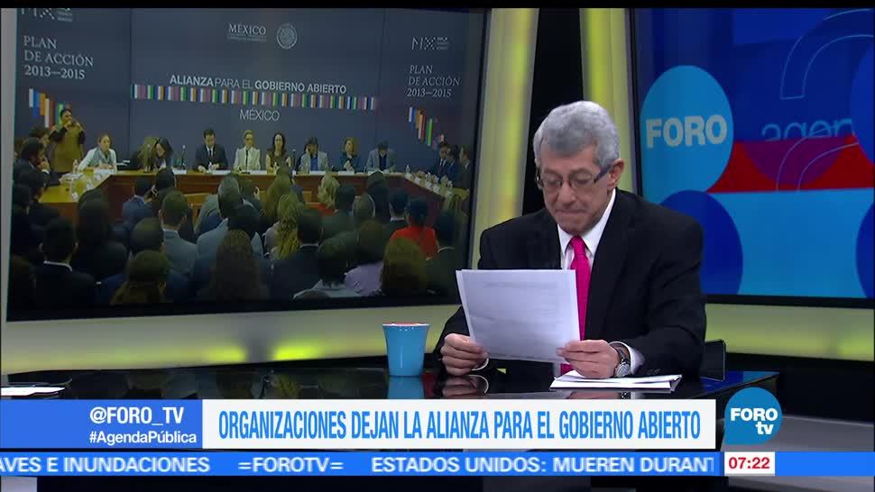 Mauricio Merino, investigador del CIDE, Ricardo Salgado, secretario técnico, Sistema Nacional Anticorrupción