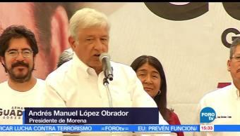 nocticias, forotv, López Obrador, Morena, primera fuerza política, México
