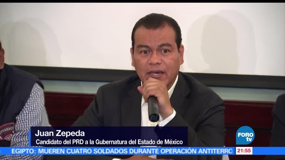 Juan Zepeda, visita, Ecatepec, Nezahualcóyotl, candidato, gubernatura
