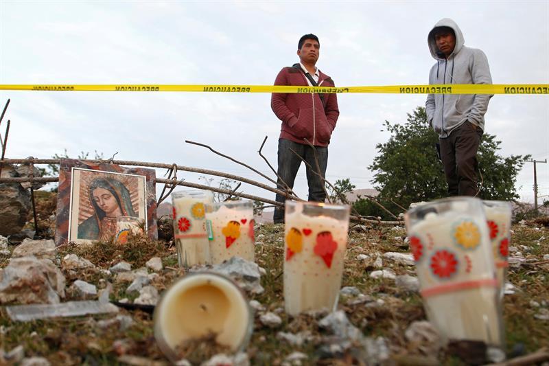 De los 14 muertos, 11 son niños (EFE)