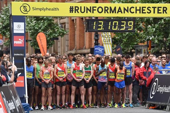 medio maratón, manchester, Gran Carrera de Manchester, corredores