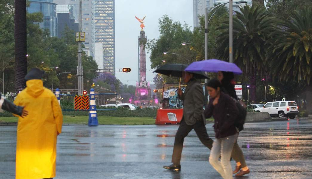 lluvia, precipitaciones, ciudad de méxico, lluvia intermitente