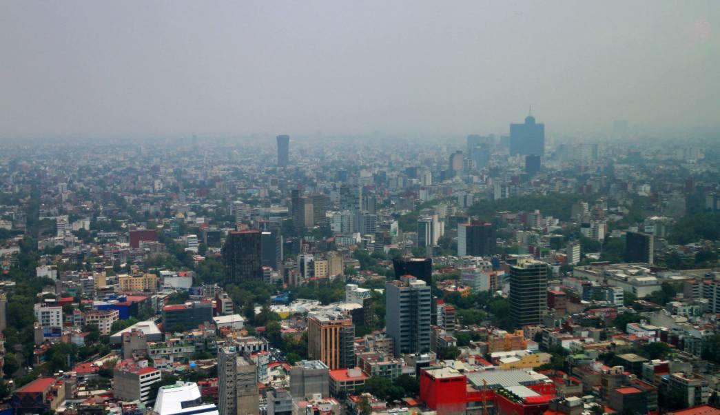 Ciudad de México y municipios del Edomex tienen mala calidad del aire