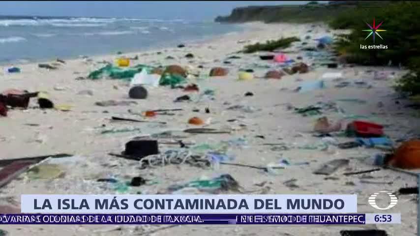 isla, Henderson, patrimonio de la humanidad, isla mas contaminada, toneladas de plástico