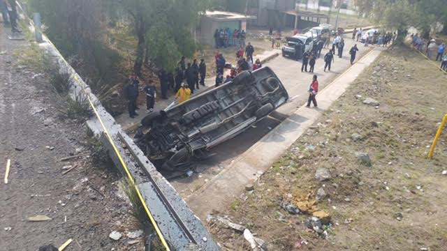 accidente en acolma, estado de mexico