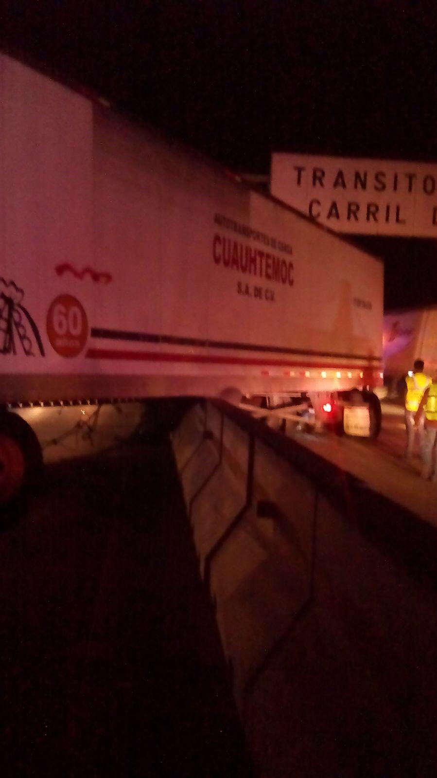 Accidentes en la México-Querétaro dejan un muerto y siete lesionados