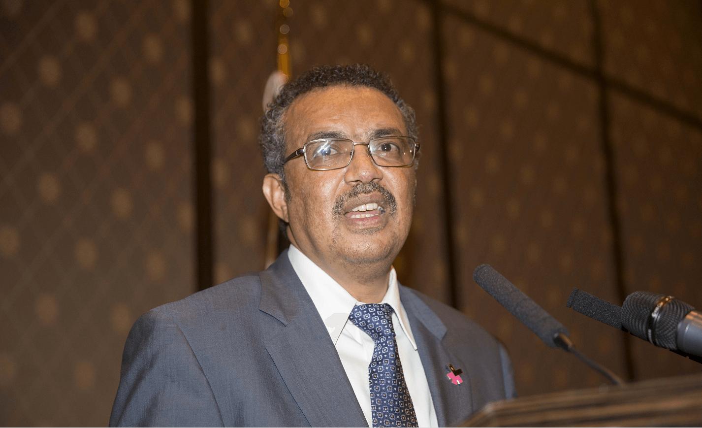 Eligen a etiope Tedros Adhanom para encabezar OMS