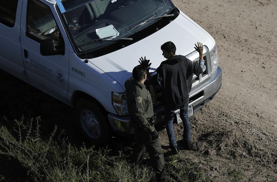 Agentes de la Patrulla fronteriza en Texas, Estados Unidos