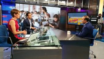Alfonso Navarrete Prida, en la mesa de Despierta con Loret. (Twitter, @NTelevisa_com)