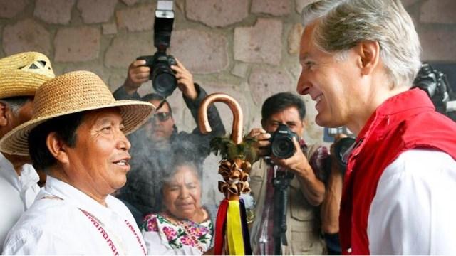 Alfredo del Mazo visita Acambay, en el Edomex