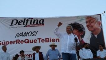 Andrés Manuel López Obrador visita Tejupilco