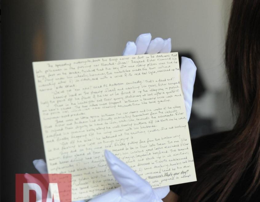 Postal de 800 palabras donde fue escrita una precuela de Harry Potter
