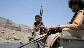 Combatientes, chiítas, hutíes, Yemen