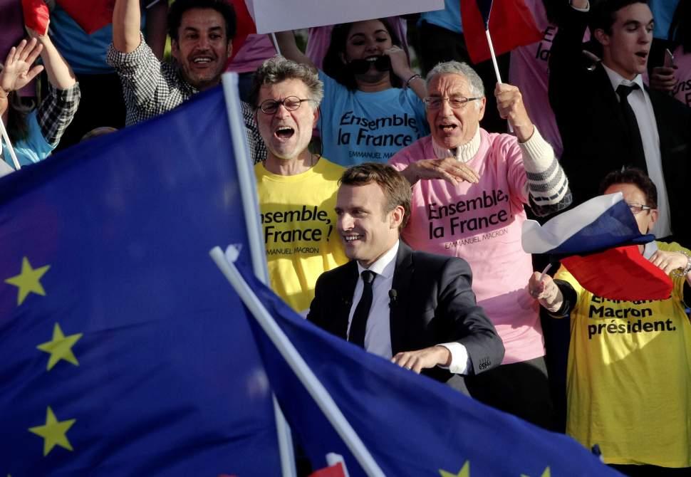 Emmanuel Macron Elecciones Francia peligro Extremismos