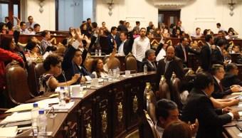 Asambleístas aprueban la Ley Electoral de la CDMX