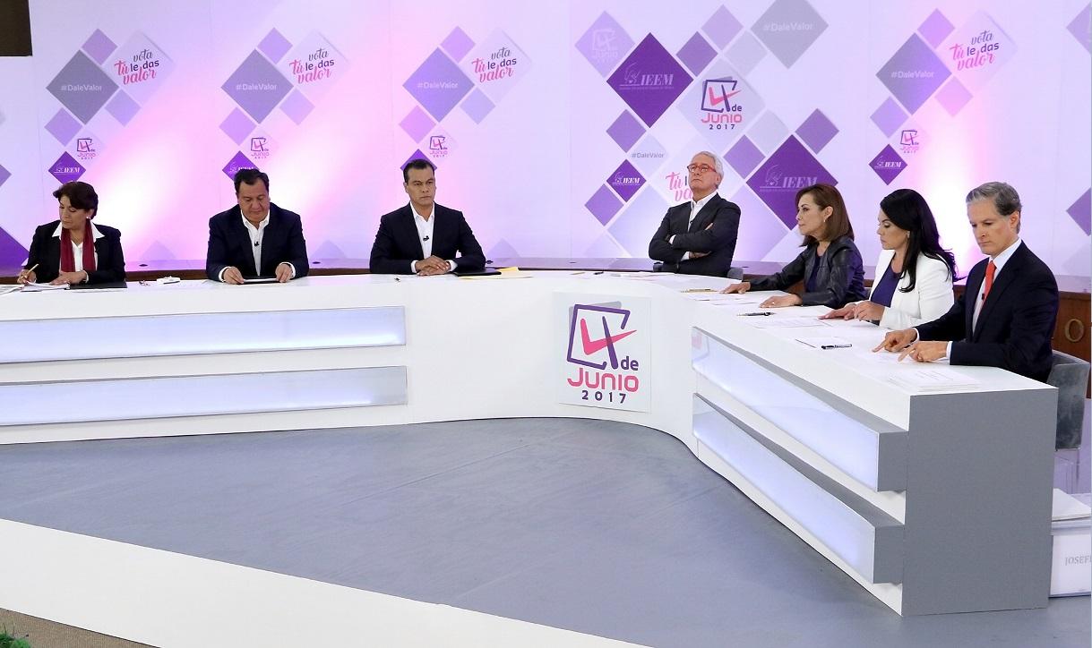 El martes, segundo debate en Edomex