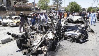 Kabul, Afganistán, coche bomba, explosión, 80 muertos, 300 heridos
