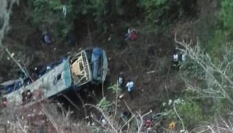 Aumenta a 18 el número de muertos por accidente en Chiapas