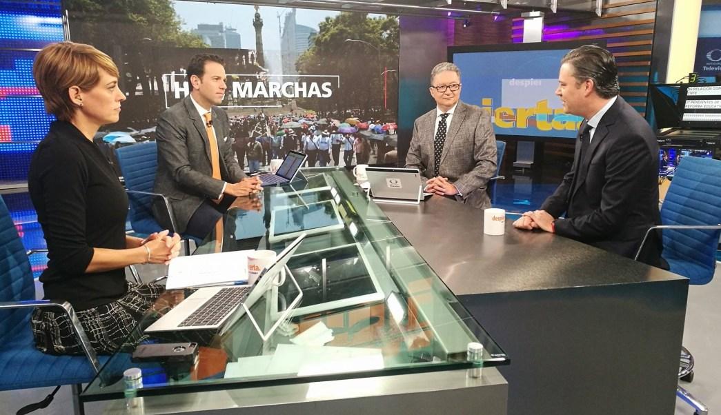 Aurelio Nuño, Sep, Evaluación educativa, Reforma educativa, Despierta con Loret, Día del Maestro