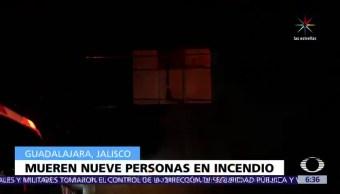 Investigan el incendio, casa habitación, muertos, Guadalajara, víctimas