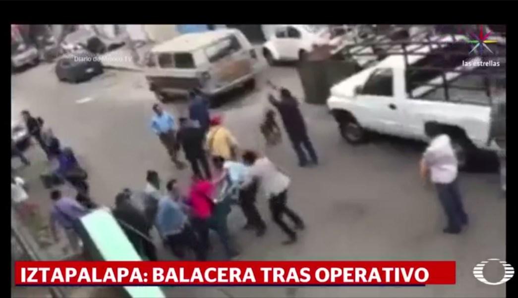 Iztapalapa, balacera, seguridad, cdmx, violencia, policía