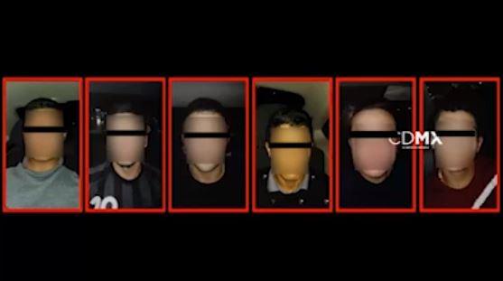 Banda de colombianos detenidos tras robar en la Miguel Hidalgo