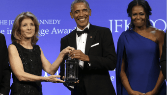 Barack Obama Premio John F. Kennedy