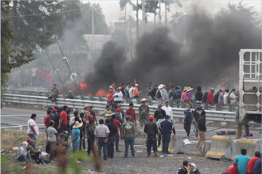Antonio Gali, Gobernador de Puebla, Puebla, Bloqueos, Robo de combustible, Huachicoleros