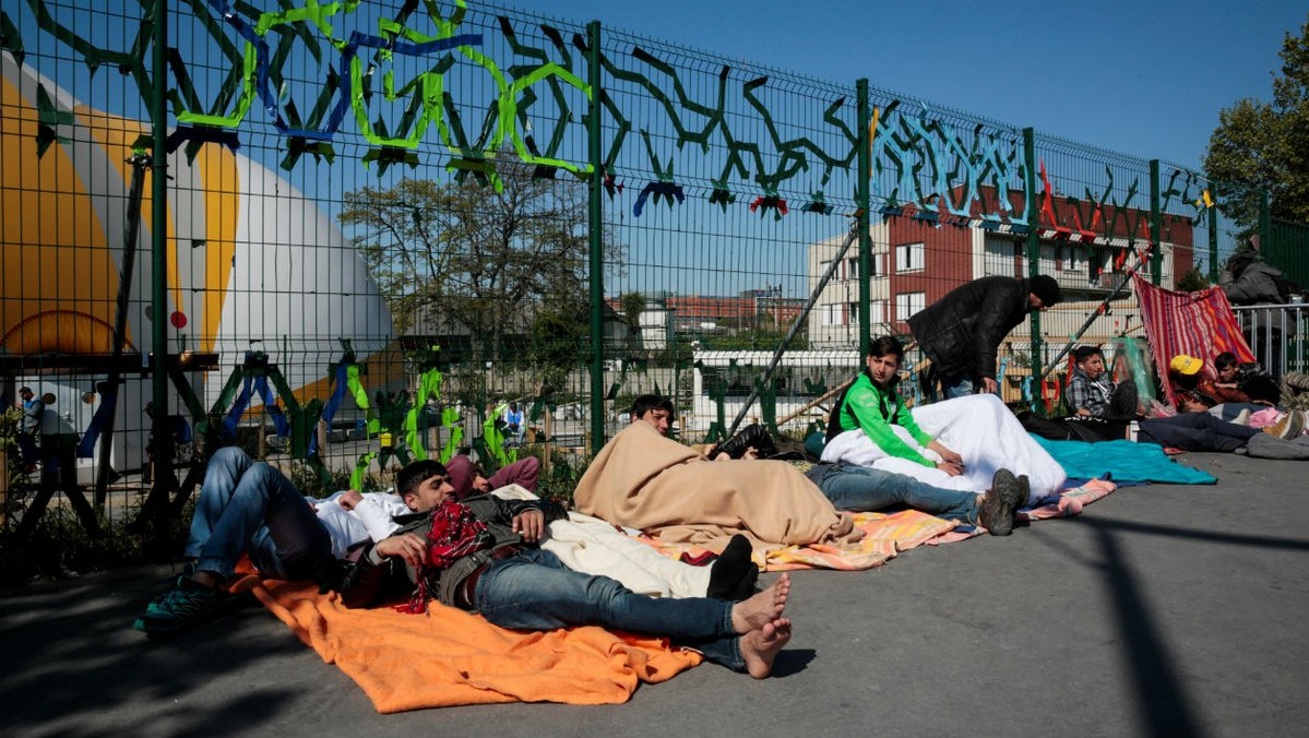 Francia, desalojo, migrantes, campamento, migración, seguridad
