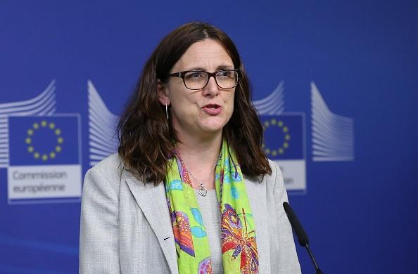 Cecilia Malmström, comisaria europea de Comercio, regresó a la Unión Europea tras una gira por México. (Getty Images)