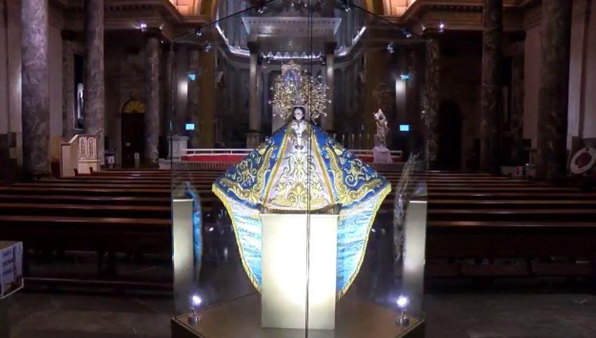 Celebran a la Virgen del Roble en Monterrey