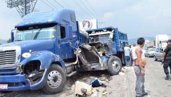 Choque, Mexico toluca, Camiones de carga, Lesionados, Noticias, Noticieros