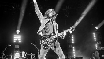 Chris Cornell durante su presentación con Soundgarden en Tuscaloosa