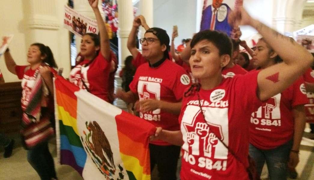 Texas, Congreso, protestas, activistas, migratorios, Agentes ICE,