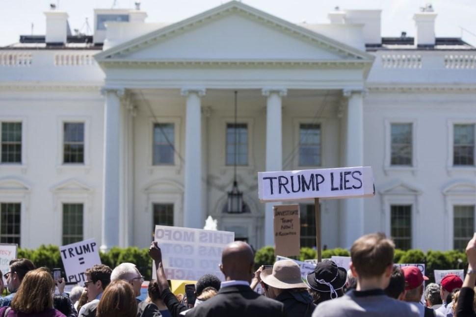 FBI, James Comey, seguridad, protestas, Washington, Trump, Casa Blanca