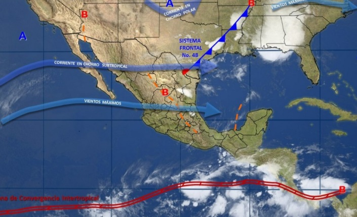 Se mantendrá el potencial de tormentas en varias zonas de la República Mexicana (Twitter @conagua_clima)