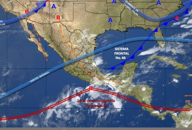 Prevalecerán tormentas en varias regiones del país