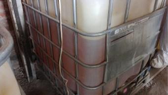 Aseguran más de 14 mil litros de hidrocarburo