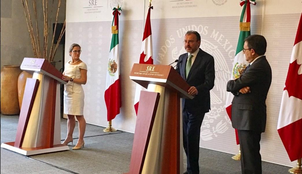 Encuentro 'México y América del Norte: Una Potencia Global' . (Twitter @SRE_mx)