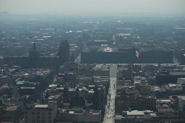 Contaminacion ambiental sobre la Ciudad de Mexico