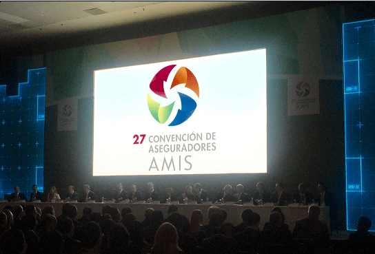 Inicia la 27 Convención de aseguradores de México. (Twitter, @prensAMIS)