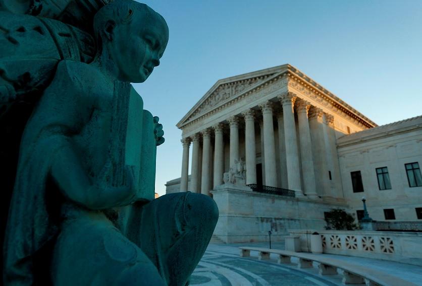 El edificio de la Suprema Corte de Estados Unidos (Reuters)