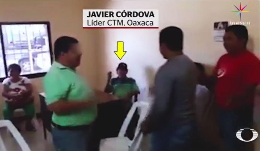 CTM, Oaxaca, concesiones, taxis, besos, hombres,