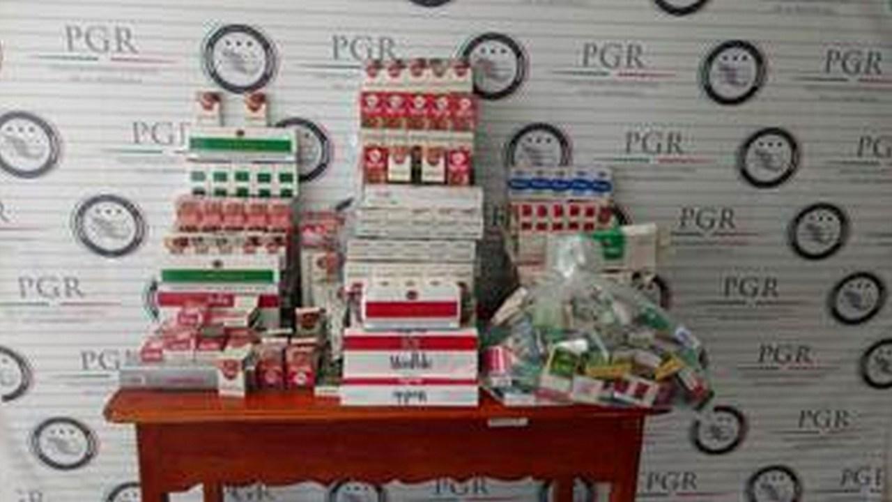 Decomisa PGR 24 mil cigarros de procedencia ilícita en Tabasco