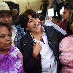 Delfina Gómez recorrió Xonacatlán, Otzolotepec y Temoaya