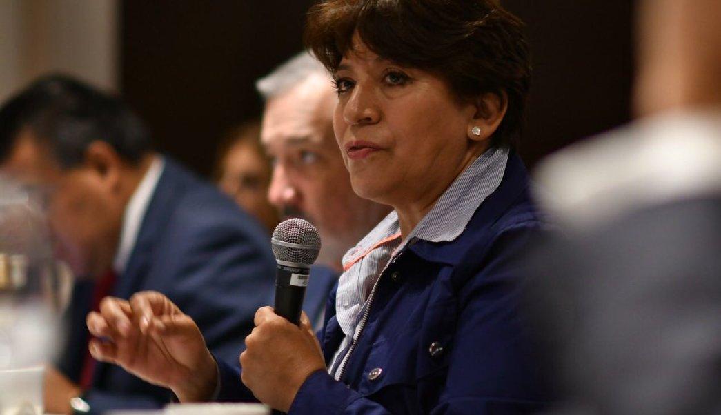 Resultado de imagen para Delfina Gómez, candidata al gobierno del Edomex.