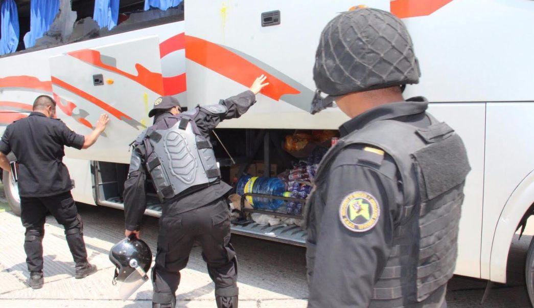Por actos vandálicos detienen a 236 jóvenes en Chiapas. (Gobierno de Chiapas)