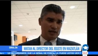El doctor Miguel Ángel Camacho Zamudio, director ISSSTE en Mazatlán, murió tras ser atacado. (FOROtv, archivo)