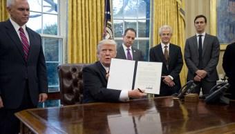 Donald Trump canceló la participación de Estados Unidos en el TPP