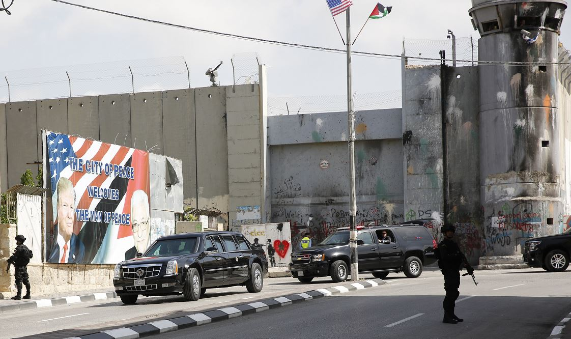 El desaire de Melania a Trump al arribar a Israel